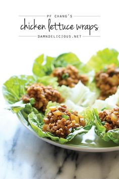 PF Chang's Chicken Lettuce Wraps - A copycat recipe that you can easily make in just 20 minutes that is low carb and tastes a million times better too!