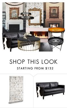 """""""Kylie Jenner's House!"""" by lerato ❤ liked on Polyvore featuring interior, interiors, interior design, home, home decor, interior decorating, Milton & King, New House Textiles, Armen Living and Robert Abbey"""