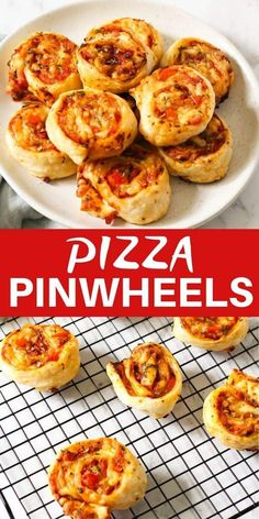 These pizza pinwheels are an absolute hit as an appetiser or snack. They're easy to prepare, freeze well & simple to customise with your favourite toppings. Lunch Snacks, Savory Snacks, Easy Snacks, Clean Eating Snacks, Easy Meals, Pizza Snacks, Pizza Appetizers, Lunches, Puff Pastry Recipes