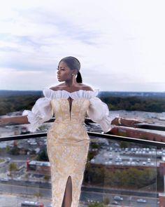 Gorgeous Asoebi Styles to Rock - Naija's Daily Aso Ebi Lace Styles, African Lace Styles, Lace Dress Styles, African Lace Dresses, Latest African Fashion Dresses, African Dresses For Women, African Print Fashion, Ankara Fashion, African Wear