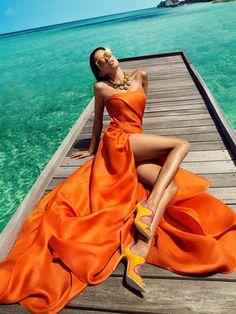 #fashion #orange