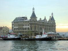 Haydarpasa Station.  Sirkeci Terminal, Istanbul: Last stop on the Orient Express