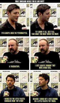 Classic Misha.