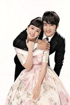 Kim Tae Hee and Song Seung Hun from My Princess - korean-actors-and-actresses Photo