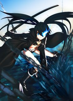 Amazing black rock shooter pics   Black Shooter Anime