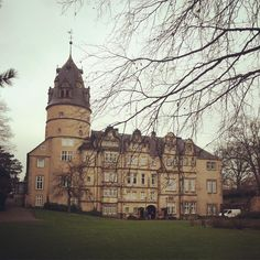 O castelo de Detmold pertinho de Bielefeld! Dentro tem um museu que vale a pena conhecer! #detmold #alemanha #schloss #casamentonaalemanha Mansions, House Styles, Germany, Castle, Feather, Museum, Destinations, Bielefeld, Manor Houses