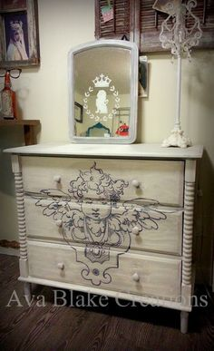 Ava Blake Creations: French Architectural Dresser