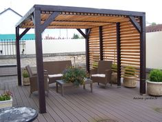 Backyard Ideas with Pergola . Backyard Ideas with Pergola . Vinyl Pergola, Wood Pergola, Modern Pergola, Pergola Canopy, Outdoor Pergola, Backyard Pergola, Patio Roof, Backyard Landscaping, Pergola Roof
