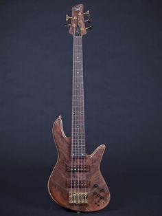 Walnut Crotch Fodera Emperor Series 5 string