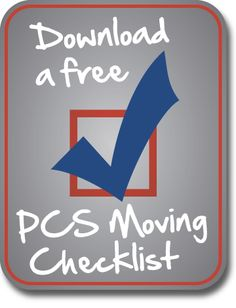 If you're making a military move, this checklist will walk you through the process from start to finish! How to make complete a PCS move: details here.