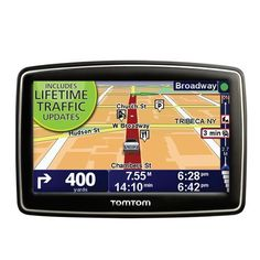 TomTom XL 335T 4.3-Inch Portable GPS Navigator (Lifetime Traffic Edition) by TomTom. $99.98. Amazon.com                Outsmart traffic with the TomTom XL 335T. With complete widescreen navigation plus Lifetime Traffic Updates, you'll always stay informed and minimize delays. Based on up-to-date traffic information, your device will recalculate travel time and suggest alternate routes. Spoken turn-by-turn instructions, including street names, will guide you to ...