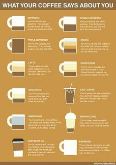 Haha iced coffee totally fits. But I love the insults in here  especially to the americano!