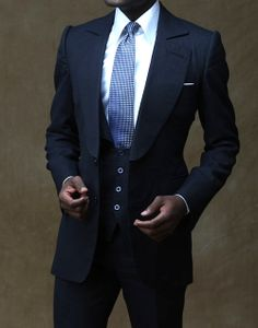 Men in Suits. Men's fashion and style. // very cool! - Ray