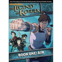 The Legend Of Korra: Book One - Air (Widescreen)