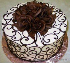 Super Ideas For Cupcakes Recipes White Buttercream Frosting Cake Decorating Techniques, Cake Decorating Tips, Cookie Decorating, Pretty Cakes, Beautiful Cakes, Amazing Cakes, Decoration Patisserie, Elegant Desserts, Specialty Cakes