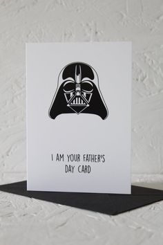 Hey, I found this really awesome Etsy listing at https://www.etsy.com/listing/235773243/star-wars-fathers-day-card-fathers-day