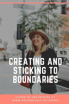If you want to grow, as a person, as a business owner, as a momma, whatever - you HAVE to learn how to have boundaries and be really strict about keeping them. In this episode Im taking you behind the scenes of my boundaries and giving you tips on creating your own and sticking to them so you are always ahead of the curve.