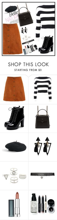 """Belle"" by esii-li ❤ liked on Polyvore featuring Boutique Moschino, Fendi, Venus, Charlotte Russe, Betsey Johnson, Maybelline and Bobbi Brown Cosmetics"