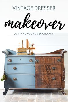 Gorgoeus painted dresser using Jolie Paint, one of the newest chalk paints on the market. This blog posts walks you through my whole painting process, along with passing along my tips and thoughts about Jolie. #chalkpaintedfurniture #joliepaint