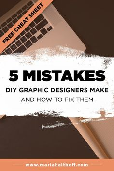 5 Mistakes DIY Designers Make and How to Fix Them — Mariah Althoff, Visual Branding Expert + Graphic Designer - Depending on your graphic design experience, you may still be making a few of these 5 mistakes that - Font Design, Graphic Design Tools, Web Design Tips, Graphic Design Tutorials, Blog Design, Graphic Design Inspiration, Diy Design, Branding Design, Graphic Designers