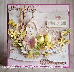 Wielkanoc w różu i nowe wyzwanie/Easter in pink and a new challenge