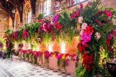 A pretty floral arch to set all the buffet under? Yes please #pin and green delight  #Decor #indianWeddings | curated by #WittyVows the ultimate guide for the Indian bride | www.wittyvows.com