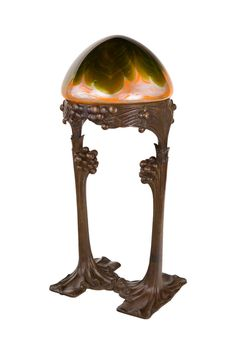 Austrian Secession Table Lamp by Gustav Gurschner / 1902