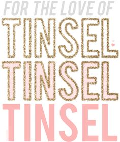 tinsel brush | tutorial