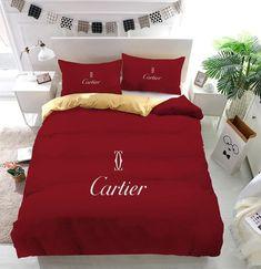 Duvet Bedding Sets, Luxury Bedding Sets, King Comforter, Chanel Bedding, Chanel Bedroom, Comforters, Bogor, Bed Linen Design, Bed Design