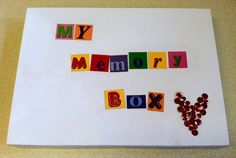 School Counselor Blog: Blouse Box + Creativity = Memory Box    I make memory boxes as an activity during my grief and loss groups. Memory boxes allow students a special place to keep mementos of their loved one. I also use the memory boxes as a place for students to store items we create during our group. At the end of the group students take their memory boxes home with them.