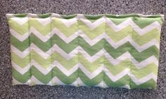 Microwavable Eco-Friendly Rice filled Heating/Cooling Pad on Etsy, $18.00