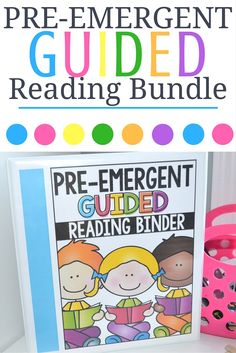Great for Pre-K and Kindergarten!  Includes lesson plans, instructions, materials to teach your earliest readers for the entire year! Just add books!
