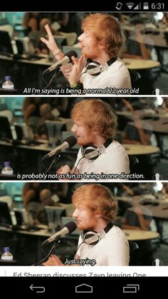 I have a new found love for Ed Sheeran