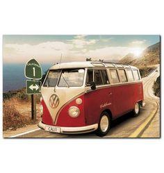 Wandbild, Premium Picture, »VW Bus«, Größe 90 x 60 cm Jetzt bestellen unter: https://moebel.ladendirekt.de/dekoration/bilder-und-rahmen/bilder/?uid=d25922bb-ecc8-5737-bf62-ccd8dba7bcf6&utm_source=pinterest&utm_medium=pin&utm_campaign=boards #bilder #rahmen #dekoration
