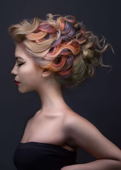 hair creations for 2015 Goldwell Colour Zoom Competition Hair Lights, Light Hair, Massage Dos, Color Fantasia, Creative Hair Color, Hair Creations, Fantasy Hair, Hair Shows, Creative Hairstyles
