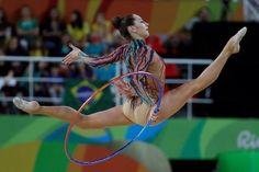Katsiaryna HALKINA (Belarus)🇧🇾 ~ Hoop @ Olympic Games in Rio De Janeiro-Brasil🇧🇷 2016 💋💋 Photographer 🇷🇺Oleg Naumov.