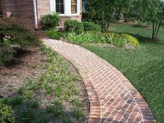 brick walkway ideas for a path to our pond!