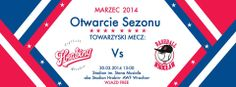 """30/03 Upcomming event that cannot be missed! Softball and baseball season inaguration and a friendly match between softball female team """"Hrabiny"""" and baseball male team """"KSB Wrocław""""! Lots of attractions, great atmosphere and american-style bbq! Best option for sunday off, see you there!   30th March, Sunday, Stadion Olimpijski (Olympic Stadium) Paderewskiego St, entry nearby tennis courts."""