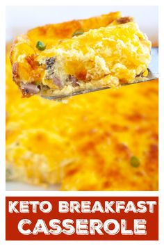 Easy and delicious Keto Breakfast Casserole. This low carb breakfast casserole is filled with ham veggies cheese and eggs. Makes great leftovers! Low Carb Breakfast Casserole, Breakfast Dishes, Breakfast Recipes, Dinner Recipes, Easy Delicious Recipes, Easy Recipes, Tasty, Healthy Recipes, Sweet Potato Muffins