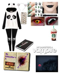"""My babysitter's a Vampire OC"" by arytang06 ❤ liked on Polyvore featuring Boohoo, Pusheen and Casetify"