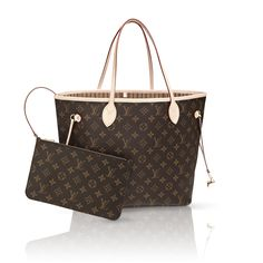 Neverfull MM via Louis Vuitton - Always have a Designer Handbag that can go with any outfit (from yoga to drinks w/the girls)