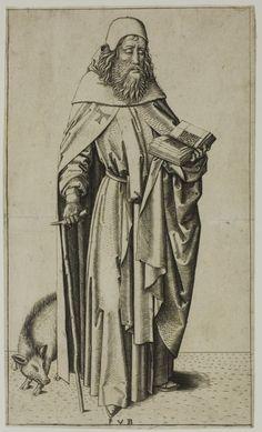 St Anthony 1490-1500