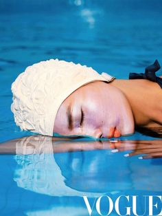 Commercial Modeling, Vogue China, Beauty Shots, Chen, Swimming, Personal Care, Makeup, Water, Photography