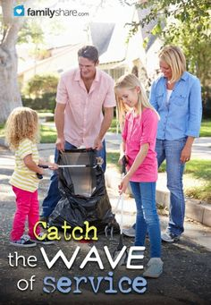 Catch the wave of service #ServiceDecember