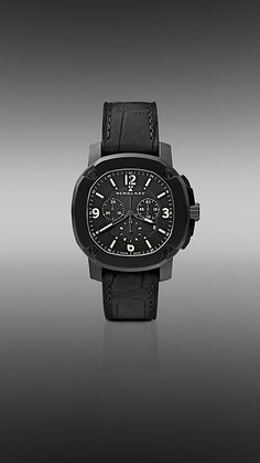 The Britain BBY1103 47mm Chronograph watch from Burberry