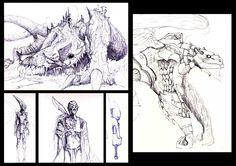 #concept #scetches #fantasy My Portfolio, Concept Art, Fantasy, Pictures, Conceptual Art, Photos, Fantasy Books, Fantasia, Grimm