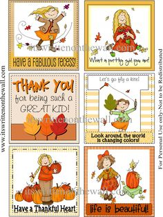 It's Written on the Wall: (freebie) Our Thanksgiving Lunchbox Notes are HERE! Get all 24 notes.  Original pin had a bad link, sorry about that