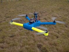 T4 Quadcopter by Brendan22 http://thingiverse.com/thing:261145