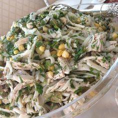 Eristeli tavuk salatası