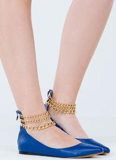 Forget 2 Chainz. You're about to one up him in these bad ass three-chain flats.